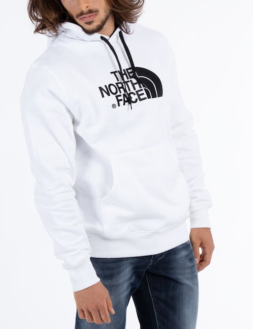 Felpa The North Face con cappuccio - white