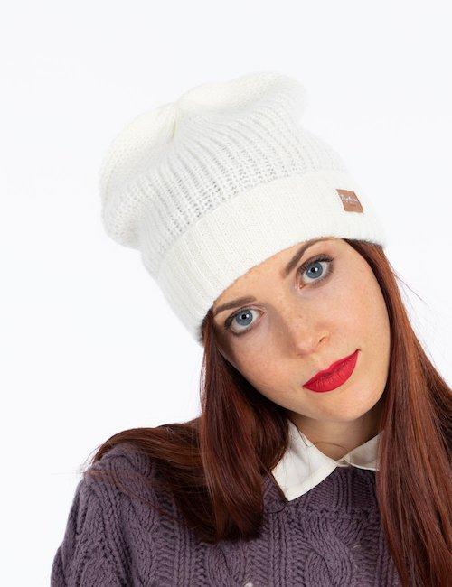 Cappello  Pepe Jeans invernale con logo - Beige