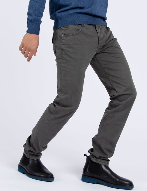 Pantalone slim urban Fifty Four - Green_Multicolor