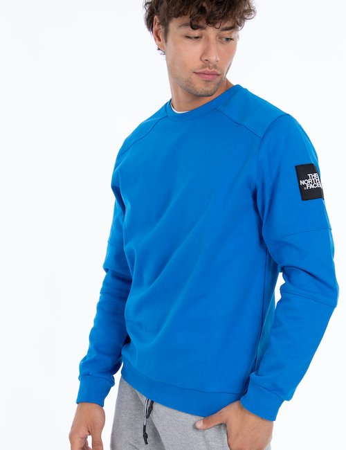 Felpa The North Face girocollo - Blu