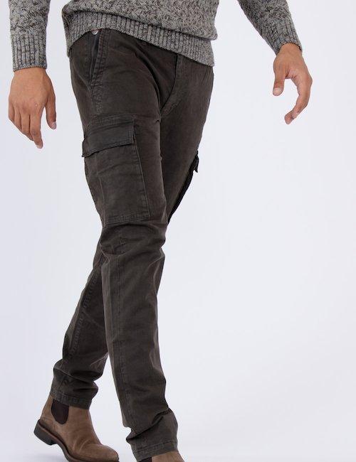 Pantalone Fred Mello cargo - Grigio