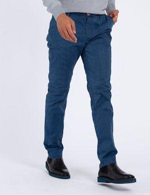 Pantalone Fred Mello micro fantasia