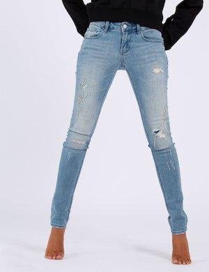 Jeans  Fracomina skinny con strass