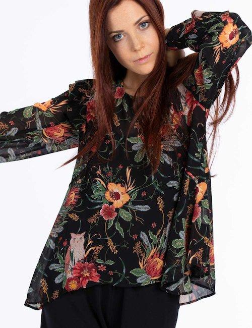 Camicia a fiori - Fantasia