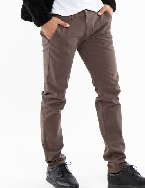 Pantalone Fifty Four casual - brown