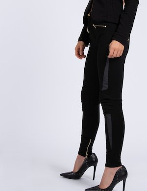 Leggings con zip Cod. art IW17W13PU esf