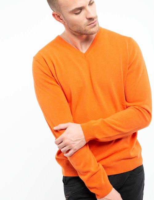 Maglia Liu Jo in lana vergine - Orange