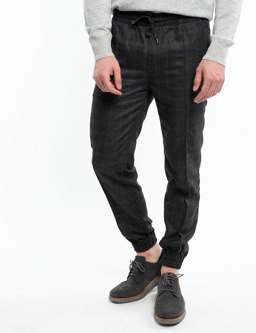 Pantalone pied de poule Liu Jo - Silver_Black