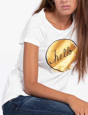 T-shirt Maison Espin con stampa