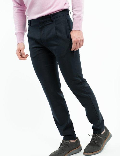 Pantalone elegante Liu Jo - Navy_Beige