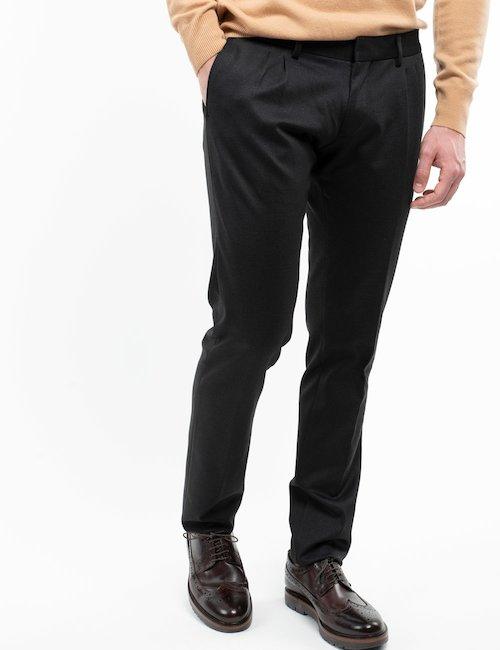 Pantalone elegante Liu Jo - Black_Turquoise