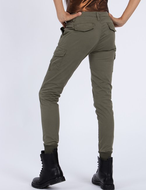 Pantalone Yes Zee con tasconi - Green_Pink