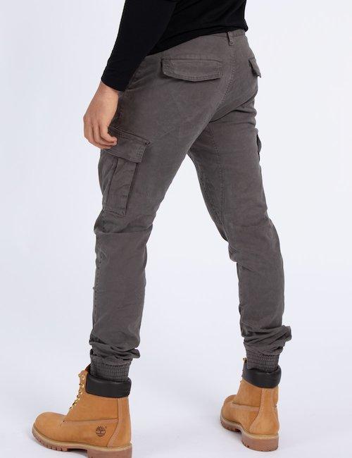 Pantalone Yes Zee con tasche - Grey