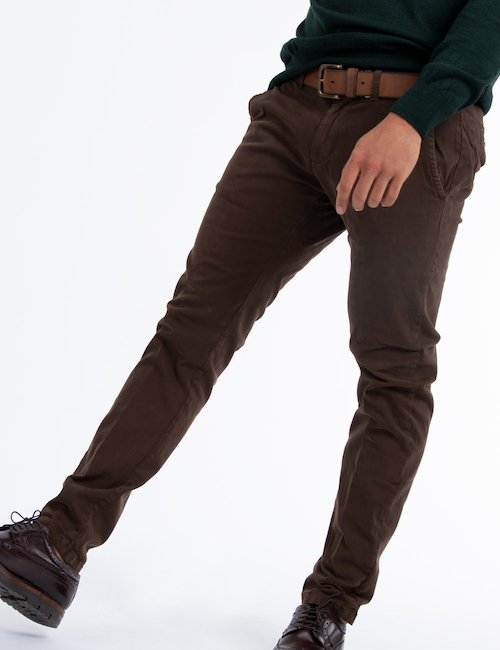 Pantalone Yes Zee Cod. art. P640 FI00 f - brown