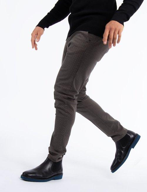 Pantalone Yes Zee casual chic Cod. art P650 FT00 f - Grigio