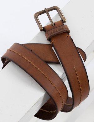 Cintura Napapijri in pelle