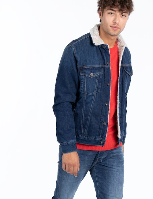 Giacca Pepe Jeans shearling sintetico - Jeans