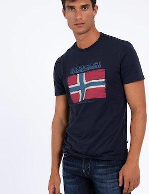 T-shirt Napapijri con grafica