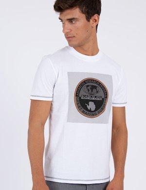 T-shirt Napapijri girocollo