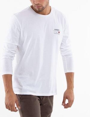 T-shirt Napapijri manica lunga