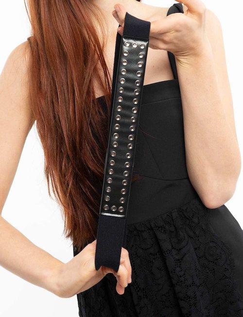 Cintura Liu Jo con strass - Black_Bronze