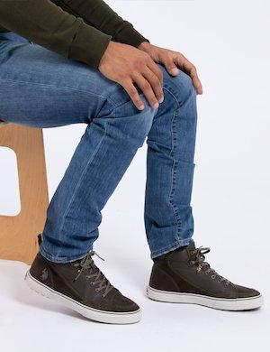 Sneaker in pelle U.S. Polo