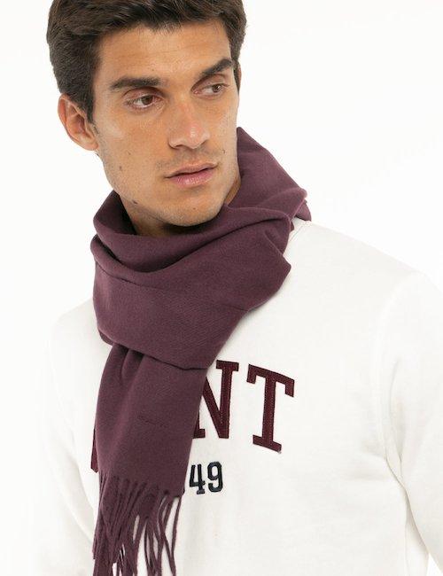 Sciarpa Gant in lana - Bordeaux