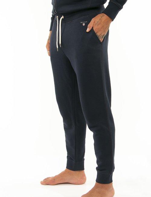 Pantalone Gant con vita e orli elasticizzati - Blu