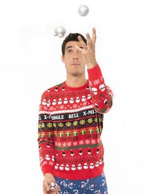 Maglione Blend fantasia natalizia