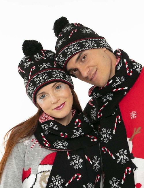 Cappello Blend natalizio - Nero