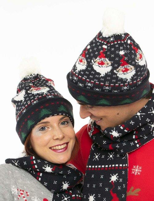 Cappello Blend natalizio - Blu