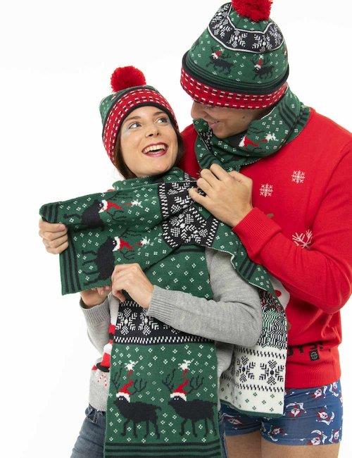 Sciarpa Blend natalizia - Verde