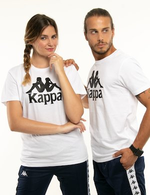 T-shirt Kappa con logo centrale