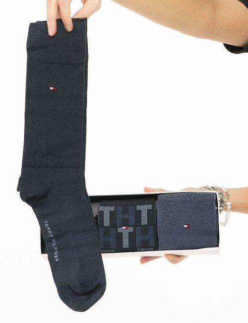 Calze Tommy Hilfiger multipack - Blu