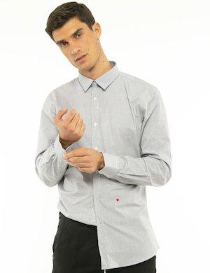 Camicia Moschino tinta unita