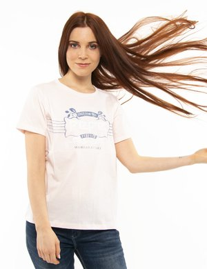 T-shirt Pepe Jeans con stampa vintage