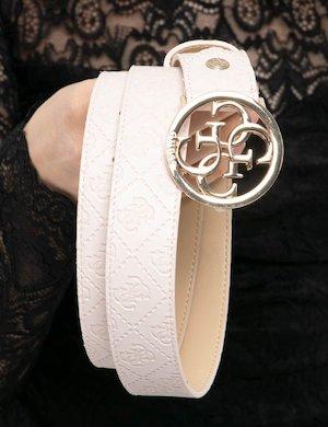Cintura Guess logo in rilievo
