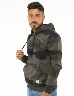 Felpa G-Star Raw militare