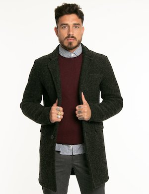 Cappotto Fred Mello in lana cotta