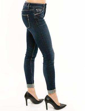 Jeans Fracomina con applicazioni laterali