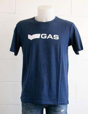 T-shirt Gas con logo stampato