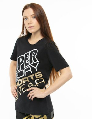 T-shirt Superdry stampata