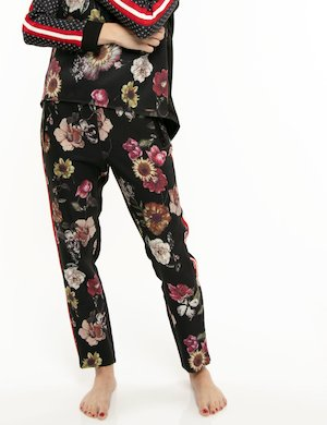 Pantalone Imperfect motivo floreale