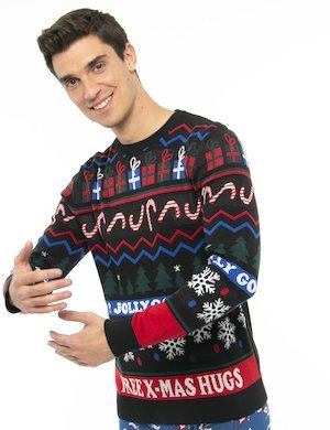Maglione Jack&Jones fantasia natalizia