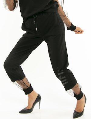 Pantalone Jiijl con dettaglio in tulle