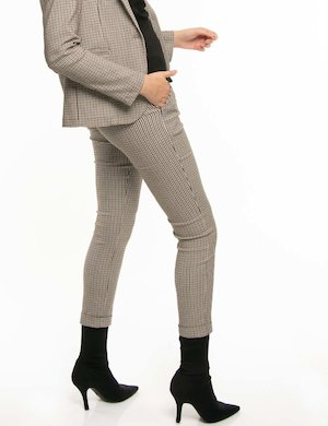 Pantalone Vougue fantasia a quadretti