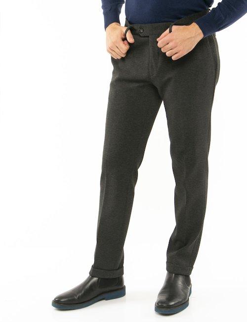 Pantalone Liu Jo con risvolti - Grigio