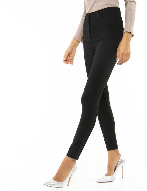 Pantalone Yes Zee skinny - Nero