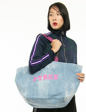 Borsa Pyrex in denim