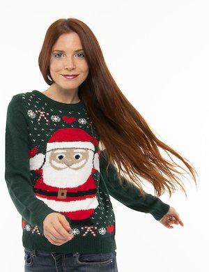 Maglione Vero Moda con Babbo Natale